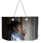 Smoking Weekender Tote Bag