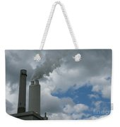 Smoking Stack Weekender Tote Bag