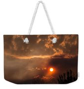 Smoky Clouds Over The Rogue Valley Weekender Tote Bag