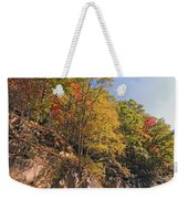 Smoky Mountain Autumn Weekender Tote Bag