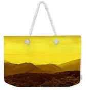 Smoky Mountain Glow Weekender Tote Bag