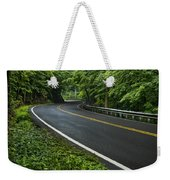 Smoky Mountain Road After Spring Rain E70 Weekender Tote Bag