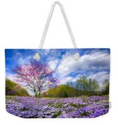 Smoky Mountain Spring Weekender Tote Bag