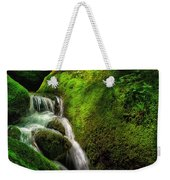 Smoky Mountain Stream And Boulders E223 Weekender Tote Bag