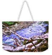 Smoky Mountain Stream Two Weekender Tote Bag