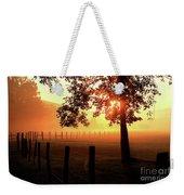 Smoky Mountain Sunrise Weekender Tote Bag