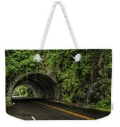 Smoky Mountain Tunnel In The Rain E123 Weekender Tote Bag