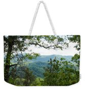 Smoky Mountain View Laurel Falls Trail Weekender Tote Bag