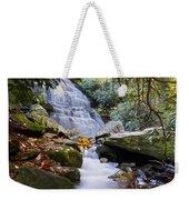Smoky Mountain Waterfall Weekender Tote Bag