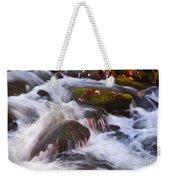 Smoky Mtn Stream - 429 Weekender Tote Bag