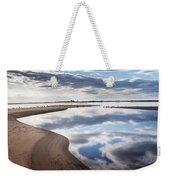 Smooth Water Reflections Weekender Tote Bag