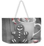 Snack For Santa Weekender Tote Bag by Juli Scalzi