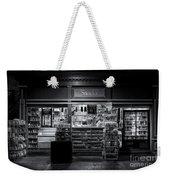 Snack Shop Bw Weekender Tote Bag