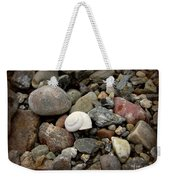 Snail Among The Rocks Weekender Tote Bag