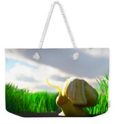 Snail And Grass... Weekender Tote Bag