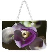 Snail Flower In The Spot Light Weekender Tote Bag