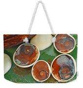 Snail Stones Weekender Tote Bag