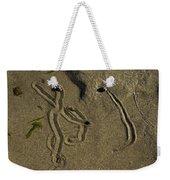 Snail Art Weekender Tote Bag