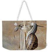 Snails Weekender Tote Bag by Nailia Schwarz