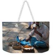 Snake Charmer Hampi Bazaar Weekender Tote Bag