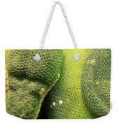Snake In Green Dress Weekender Tote Bag