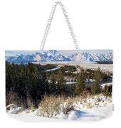 Snake River Overlook Weekender Tote Bag