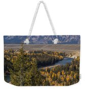 Snake River Overlook One Weekender Tote Bag