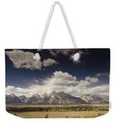Snake River Valley Grand Teton Np Weekender Tote Bag