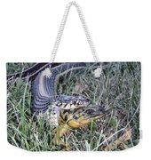 Snake With Legs Weekender Tote Bag