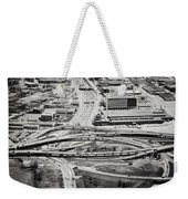Snakes And Commuters Weekender Tote Bag