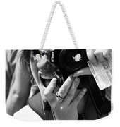Snap Chat  Weekender Tote Bag