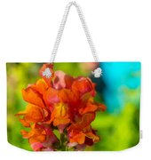 Snapdragon Flower Blurred Background Weekender Tote Bag