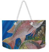 Snapper Spear Weekender Tote Bag by Carey Chen