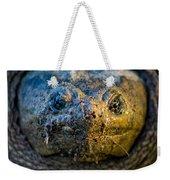 Snapping Turtle Weekender Tote Bag