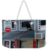 Snappy Lunch Mt. Airy Nc Weekender Tote Bag