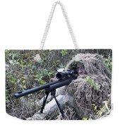 Sniper Dressed In A Ghillie Suit Weekender Tote Bag