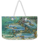 Snook Attack In0014 Weekender Tote Bag by Carey Chen