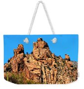 Snoopy Rock - Sabino Canyon Tucson Arizona  Weekender Tote Bag
