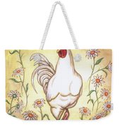 Snooty The Rooster Two Weekender Tote Bag