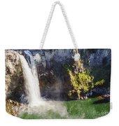 Snoqualime Falls And Pool Weekender Tote Bag