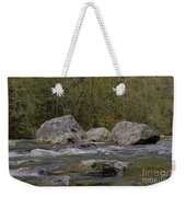 Snoqualmie River Weekender Tote Bag