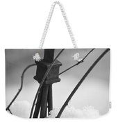 Snow Accent Weekender Tote Bag