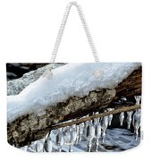 Snow And Icicles No. 1 Weekender Tote Bag