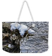 Snow And Icicles No. 2 Weekender Tote Bag