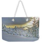 Snow And The Sierra Highway 88 Weekender Tote Bag