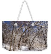 Snow Arches Weekender Tote Bag