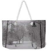 Snow At Bulls Island - 29 Weekender Tote Bag
