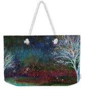 Snow At Twilight Weekender Tote Bag