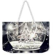 Snow Ball Weekender Tote Bag