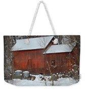Snow Barn II Weekender Tote Bag